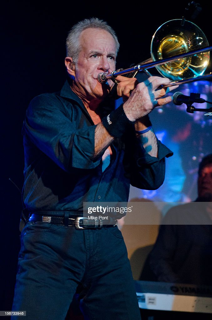 James Pankow of the rock band Chicago performs during the Musician's On Call 2012 Benefit>> at B.B. King Blues Club & Grill on November 19, 2012 in New York City.