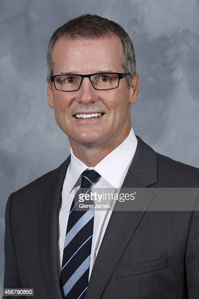 James Patrick assistant coach of the Dallas Stars poses for his official headshot for the 20142015 season on September 18 2014 at the American...
