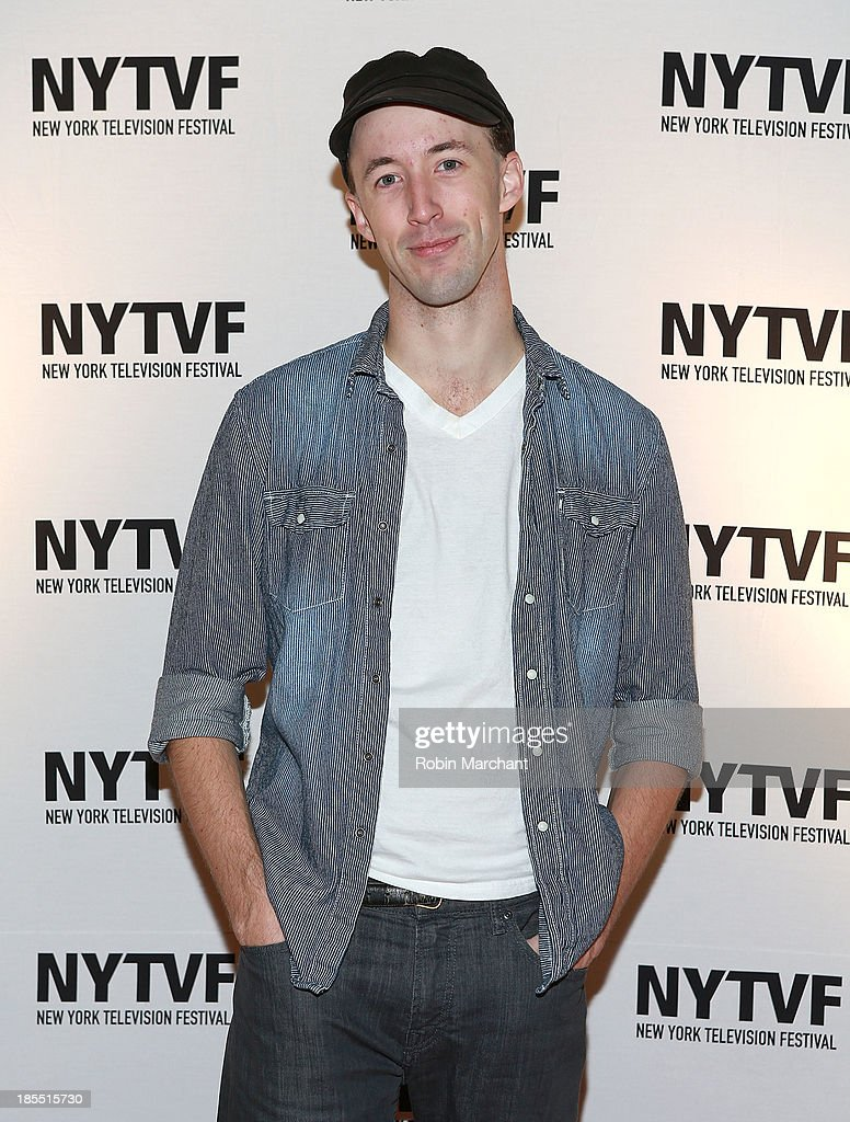 James Patrick Nelson attends 'In Between Men' Series Screening - 9th Annual New York Television Festival at Tribeca Cinemas on October 21, 2013 in New York City.