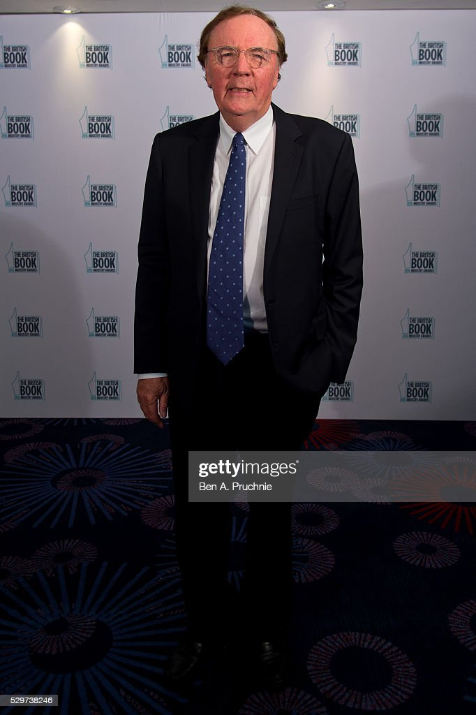 James Patterson attends the 2016 British Book Industry Awards at the Grosvenor House Hotel on May 9, 2016 in London, England.