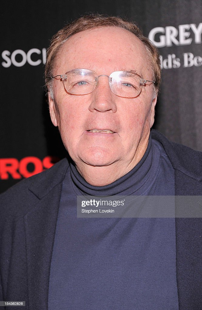 <a gi-track='captionPersonalityLinkClicked' href=/galleries/search?phrase=James+Patterson&family=editorial&specificpeople=1717926 ng-click='$event.stopPropagation()'>James Patterson</a> attends The Cinema Society & Grey Goose Host A Screening Of 'Alex Cross' at Tribeca Grand Hotel on October 18, 2012 in New York City.