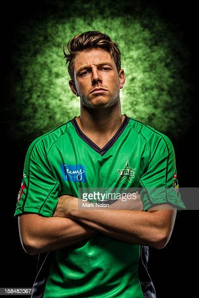 James Pattinson of the Melbourne Star poses during a 2012/13 Big Bash League portrait session on August 9 2012 in Darwin Australia