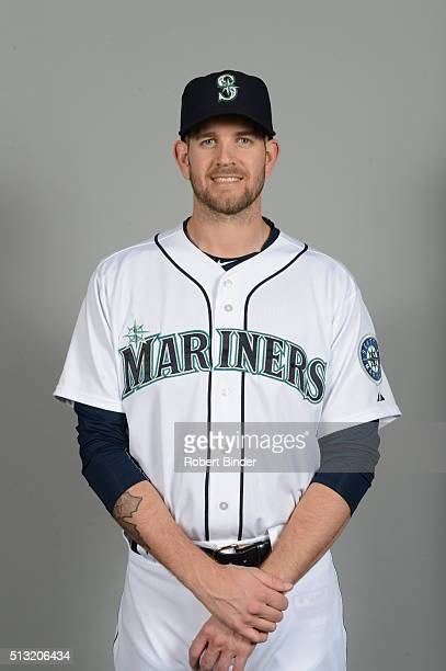 James Paxton of the Seattle Mariners poses during Photo Day on Saturday February 27 2016 at Peoria Sports Complex in Peoria Arizona