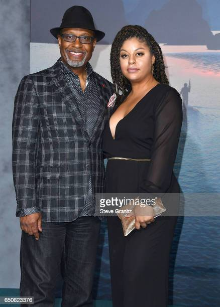 James Pickens Jr arrives at the Premiere Of Warner Bros Pictures' 'Kong Skull Island' at Dolby Theatre on March 8 2017 in Hollywood California