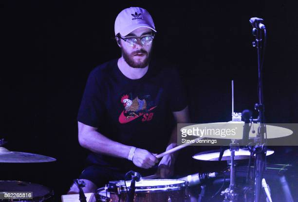 James Price of Nothing But Thieves performs in support of their new album release 'Broken Machine' at Great American Music Hall on October 16 2017 in...