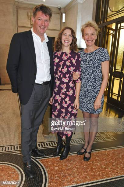 James Prichard Agatha Christie's great grandson and Chairman and CEO of Agatha Christie Ltd cast member Catherine Steadman and director Lucy Bailey...