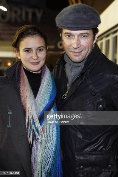 James Purefoy and girlfriend Jessica...