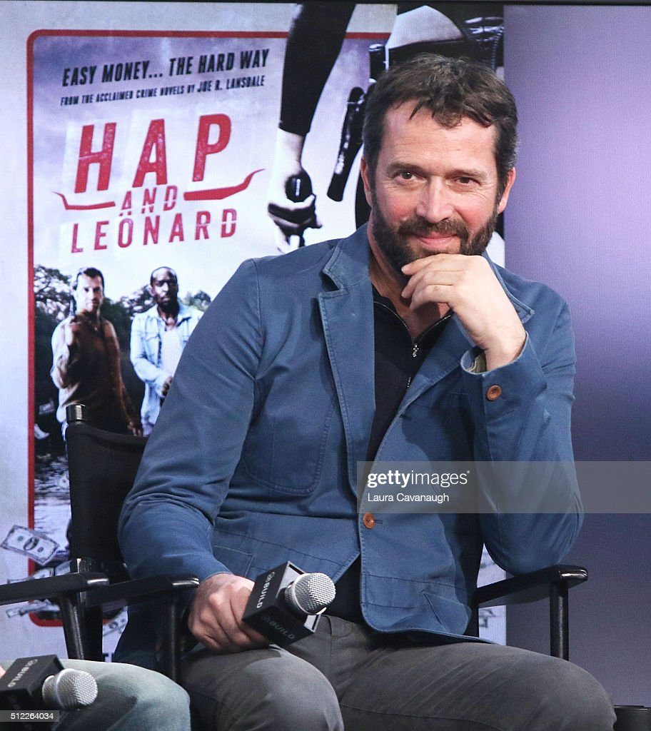 "AOL Build Speakers Series - James Purefoy, Michael K Williams, Jimmi Simpson, Jim Mickle, Nick Damici and Joe Landsdale, ""Hap and Leonard"""