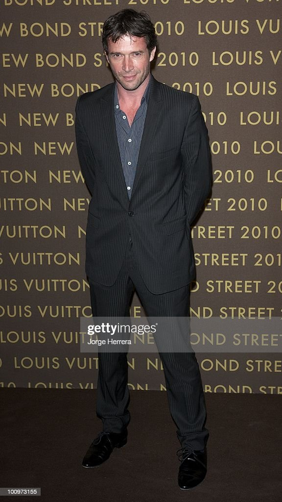 James Purefoy attends the after party for the launch of the Louis Vuitton Bond Street Maison on May 25, 2010 in London, England.
