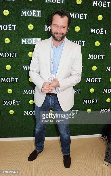 James Purefoy attends The Moet Chandon Suite at The Aegon Championships Queens Club finals on June 16 2013 in London England