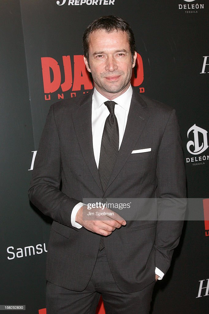 James Purefoy attends The Weinstein Company with The Hollywood Reporter, Samsung Galaxy & The Cinema Society screening of 'Django Unchained' at the Ziegfeld Theatre on December 11, 2012 in New York City.