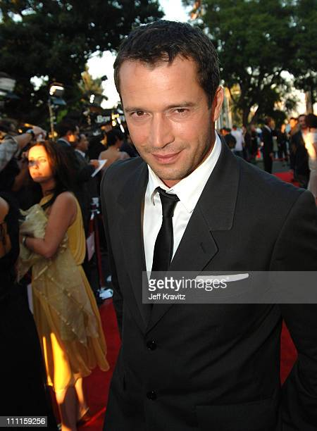 James Purefoy during HBO's 'Rome' Los Angeles Premiere Red Carpet at Wadsworth Theater in Los Angeles California United States