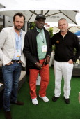 James Purefoy Richard Roundtree and Aidan Quinn attend The Moet Chandon Suite at The Aegon Championships Queens Club finals on June 16 2013 in London...