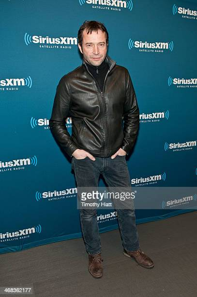 James Purefoy visits the SiriusXM Studios on February 10 2014 in New York City