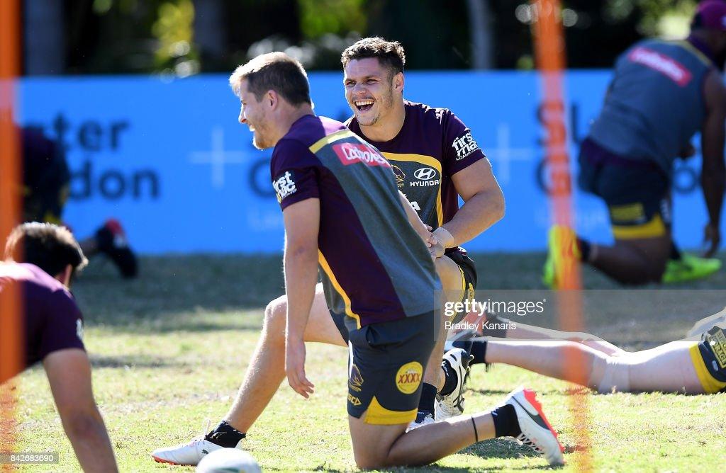 Brisbane Broncos Training Session