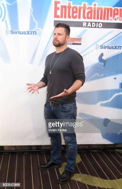 James Roday attends SiriusXM's Entertainment Weekly Radio Channel Broadcasts From Comic Con 2017 at Hard Rock Hotel San Diego on July 21 2017 in San...