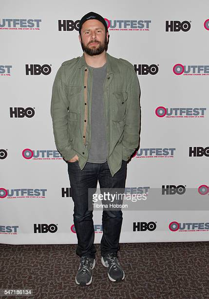 James Roday attends the Outfest screening of 'Pushing Dead' at Director's Guild of America on July 13 2016 in West Hollywood California