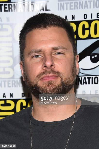 James Roday attends the 'Psych' press conference at ComicCon International 2017 on July 21 2017 in San Diego California
