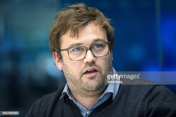 James Rushton chief executive officer of DAZN a Perform Group Ltd company speaks during an interview in London UK on Thursday Nov 10 2016 DAZN a...