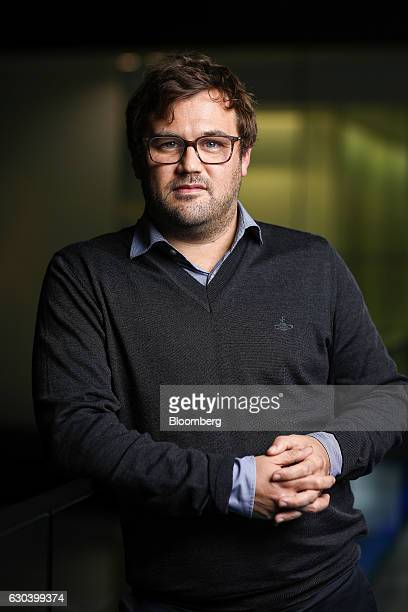 James Rushton chief executive officer of DAZN a Perform Group Ltd company poses for a photograph following an interview in London UK on Thursday Nov...