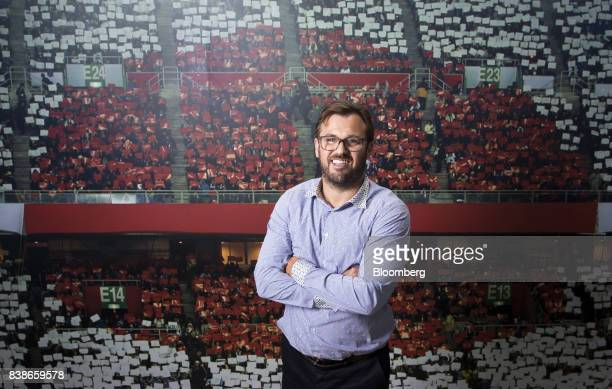 James Rushton chief executive officer of DAZN a UKowned sportsstreaming service poses for a photograph in Tokyo Japan on Wednesday Aug 2 2017 DAZN...