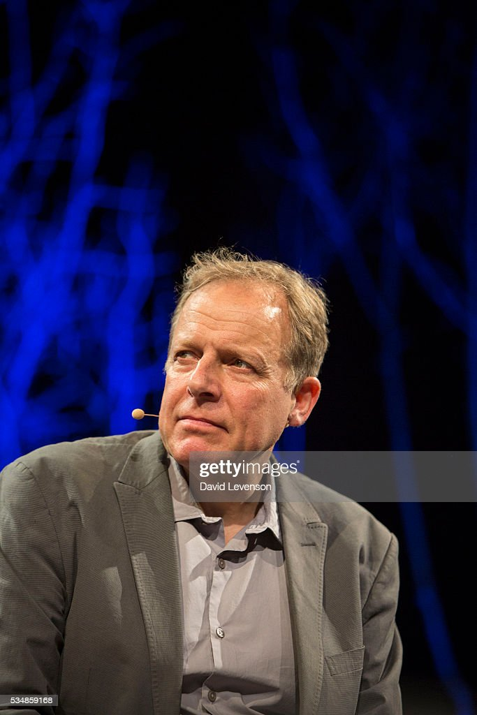 James Shapiro, the Samuel Johnson Prize winning author of 1599, at the Hay Festival, on May 28, 2016 in Hay-on-Wye, Wales.