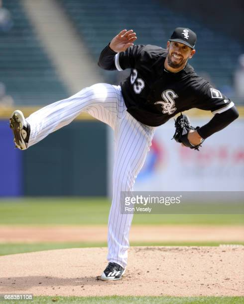 James Shields of the Chicago White Sox pitches against the Detroit Tigers on April 6 2017 at Guaranteed Rate Field in Chicago Illinois The White Sox...