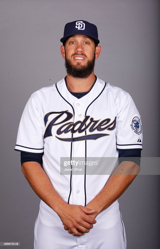James Shields #33 of the San Diego Padres poses during Photo Day on Monday, March 2, 2015 at Peoria Stadium in Peoria, Arizona.