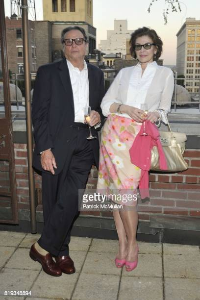James Signorelli and Sara Colleton attend Book Party hosted by Anne and Jay McInerney Celebrating 'The Carrie Diaries' by Candace Bushnell at Private...