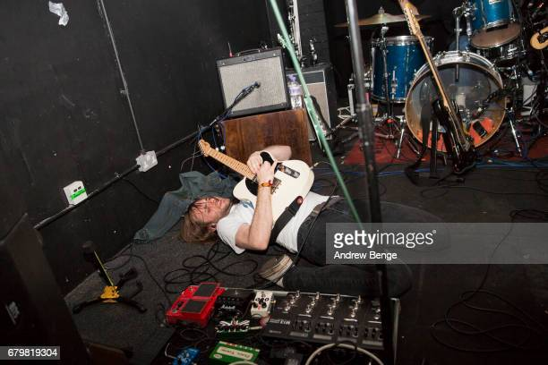 James Simpson of Get Inuit performs at The Key Club during Live At Leeds on April 29 2017 in Leeds England Live at Leeds is a music festival that...