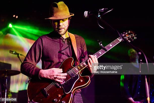 James Skelly of The Coral performs at the Leadmill on March 11 2016 in Sheffield England