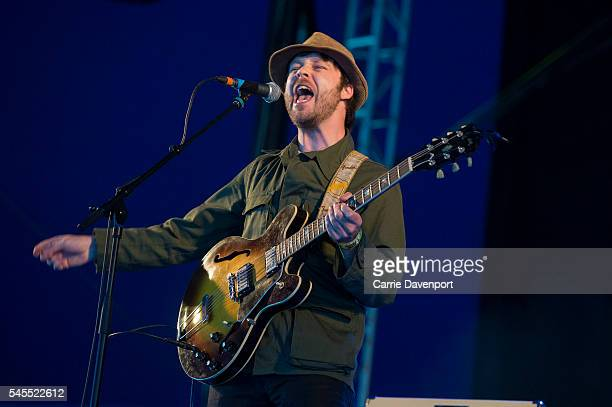 James Skelly The Coral performs onstage in the King tut's Wah Wah Tent during T in the Park at Strathallan Castle on July 8 2016 in Perth Scotland