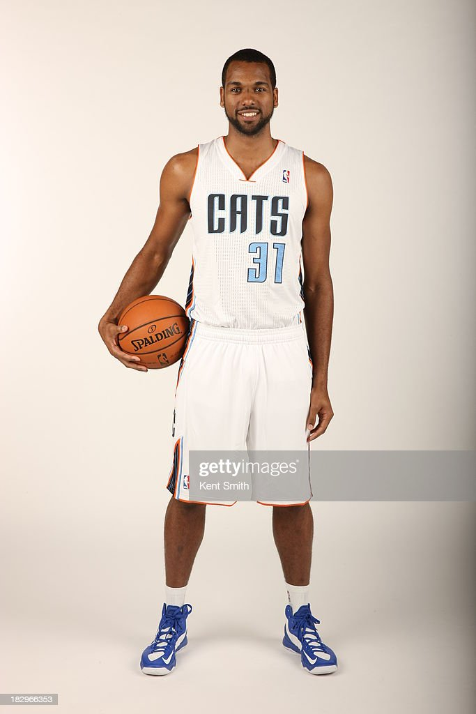 James Southerland #31 of the Charlotte Bobcats poses for a portrait on media day at the Time Warner Cable Arena on September 30, 2013 in Charlotte, North Carolina.