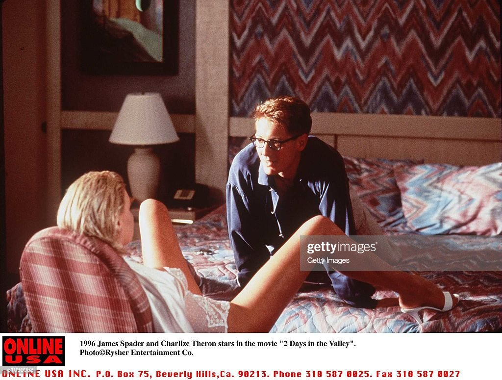 James Spader And Charlize Theron Stars In The Movie '2 Days In The Valley'.
