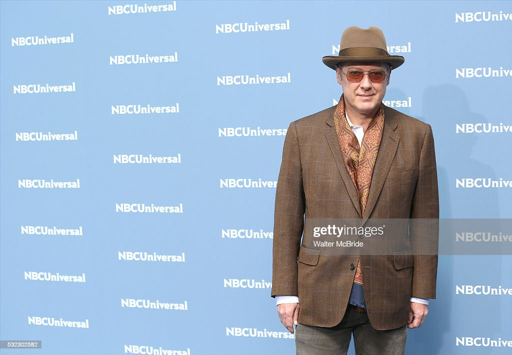 James Spader attends the NBCUNIVERSAL 2016 Upfront presentation at Radio City Music Hall on May 16, 2016 in New York City.
