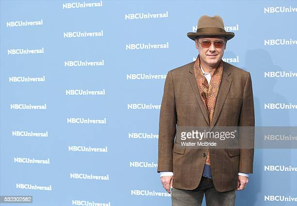 James Spader attends the NBCUNIVERSAL 2016 Upfront presentation at Radio City Music Hall on May 16 2016 in New York City