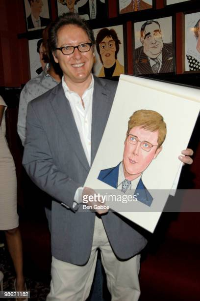 James Spader attends the portrait unveiling for the cast of 'Race' at Sardi's on April 22 2010 in New York City