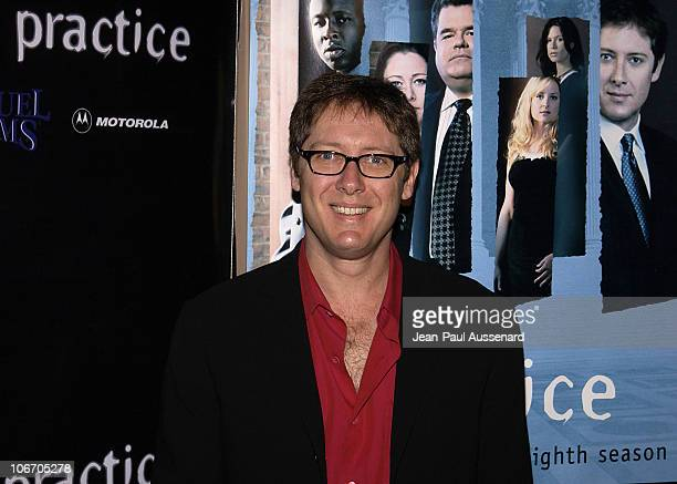 James Spader during David Kelley and The Cast of ABC's Hit Drama 'The Practice' Celebrate The Launch of Their Eight Season at Buffalo Club in Santa...