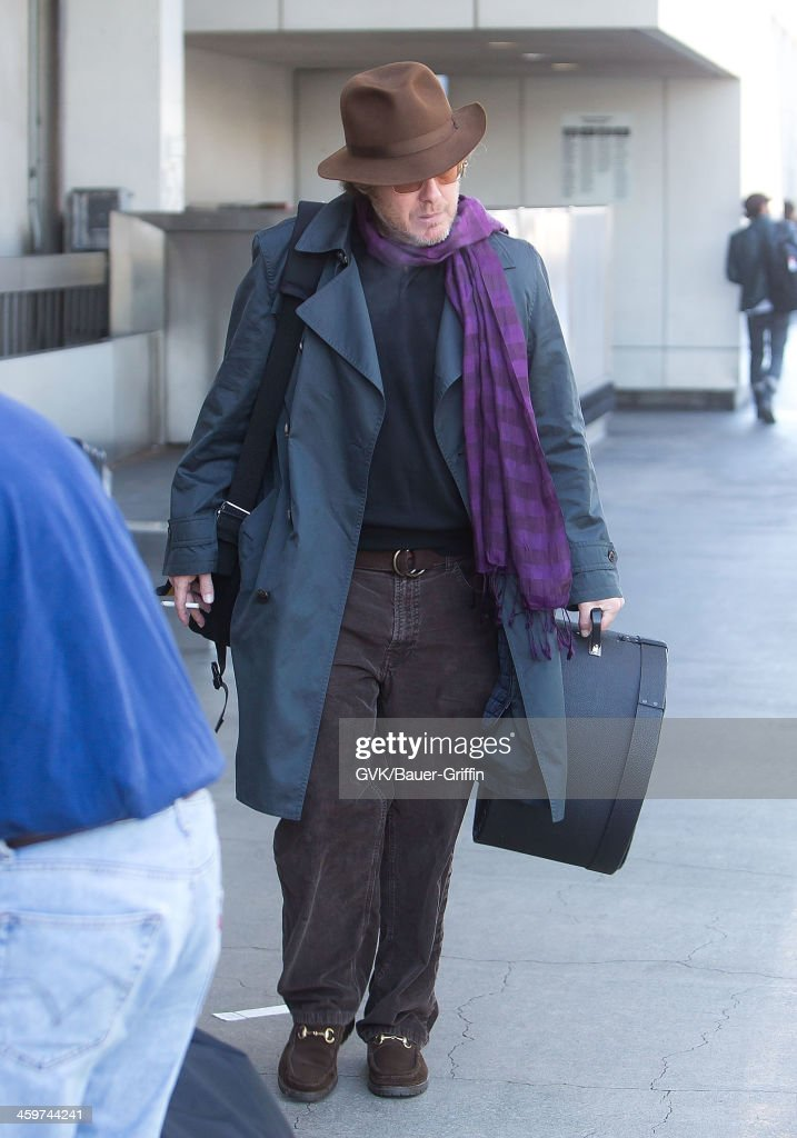 James Spader is seen at Los Angeles International Airport on March 13 2013 in Los Angeles California