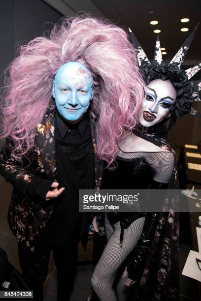 James St James gets a 'Transformations' makeover during RuPaul's DragCon NYC 2017 at The Jacob K Javits Convention Center on September 10 2017 in New...