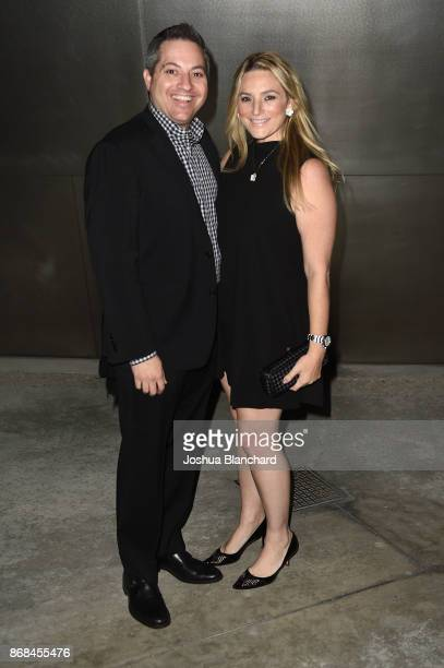 James Sterling and Leslie Ross attend the Israel Philharmonic Orchestra Los Angeles Gala Honoring Zubin Mehta at Walt Disney Concert Hall on October...