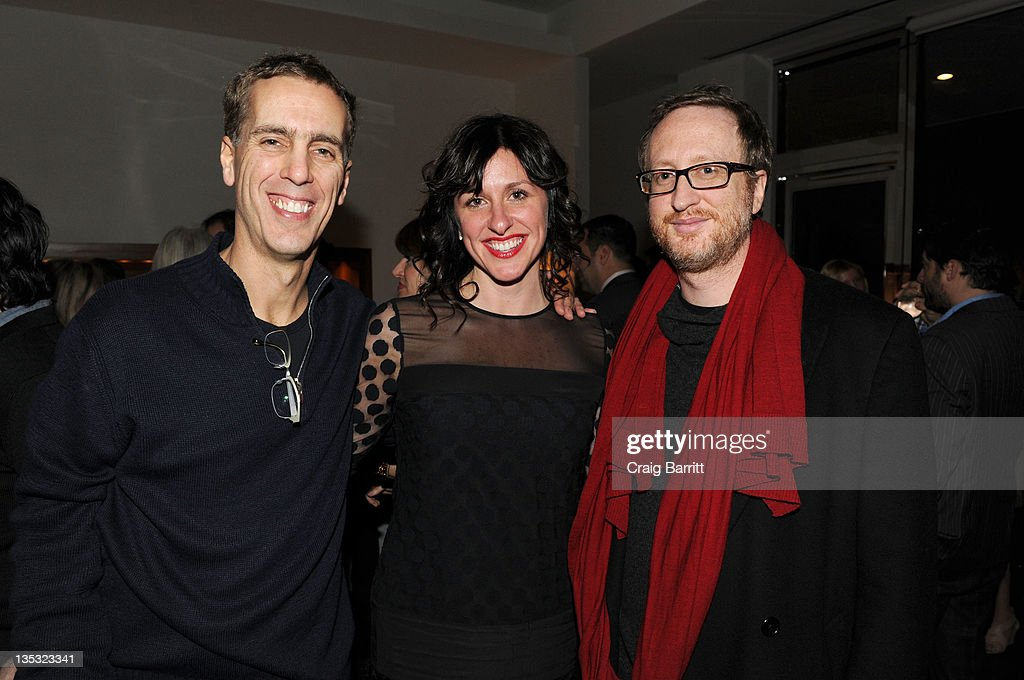 James Stern, Molly Conners and <a gi-track='captionPersonalityLinkClicked' href=/galleries/search?phrase=James+Gray&family=editorial&specificpeople=2479723 ng-click='$event.stopPropagation()'>James Gray</a> attend the Worldview Entertainment 2011 Holiday Party at William Beaver House on December 8, 2011 in New York City.