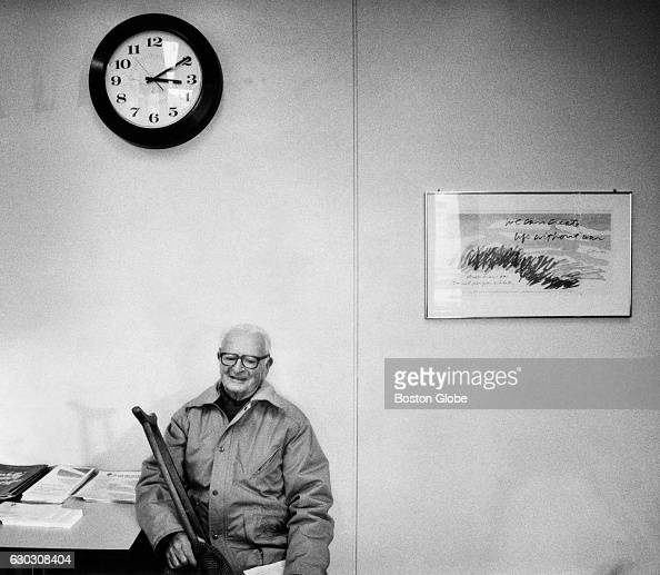 James Sullivan of Everett waits for help at the Group Insurance Commission's offices in Boston Mass on Dec 5 1989 He was there on behalf of his...