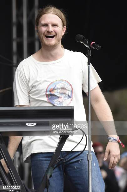 James Sunderland of Frenship performs during the 2017 Outside Lands Music and Arts Festival at Golden Gate Park on August 13 2017 in San Francisco...