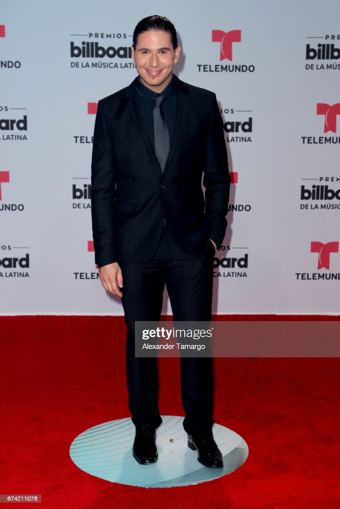 James Tahhan attends the Billboard Latin Music Awards at Watsco Center on April 27, 2017 in Coral Gables, Florida.