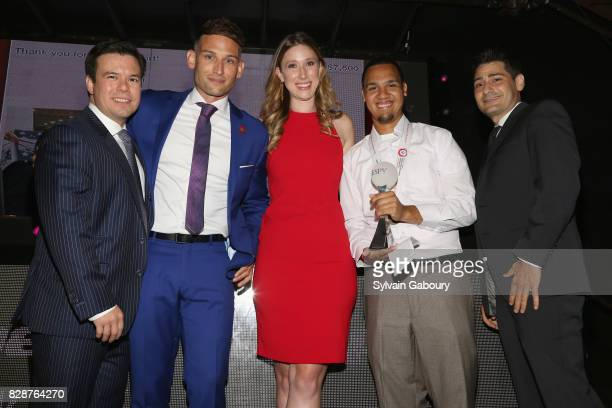 James Tang Adam Merino Taylor Burns Danny Davila and Joe Stewart attend 11th Annual Summer Social benefiting Special Olympics New York at Marquee on...
