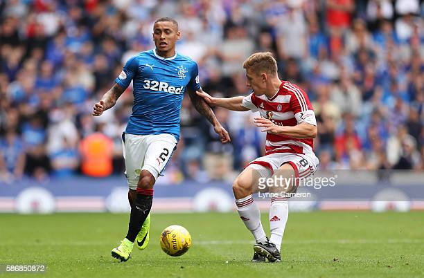 James Tavernier of Rangers during the Ladbrokes Scottish Premiership match between Rangers and Hamilton Academical at Ibrox Stadium on August 6 2016...