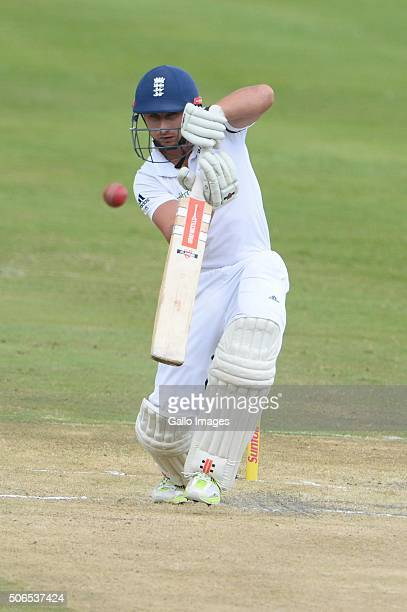James Taylor of England during day 3 of the 4th Test match between South Africa and England at SuperSport Stadium on January 24 2016 in Centurion...