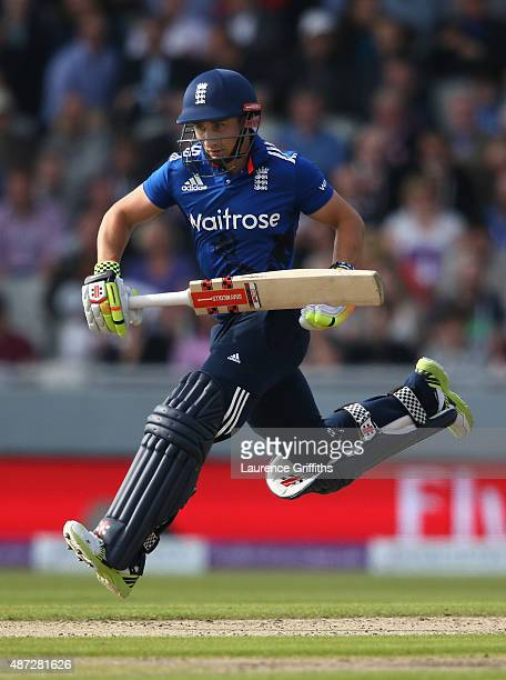 James Taylor of England in action during the 3rd Royal London OneDay International match between England and Australia at Old Trafford on September 8...