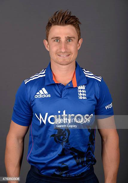 James Taylor of England poses for a portrait at Edgbaston on June 8 2015 in Birmingham England